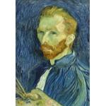 Puzzle  Grafika-01916 Vincent Van Gogh : Autoportrait, 1889