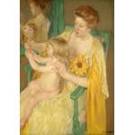 Puzzle  Grafika-01935 Mary Cassatt : Mère et Enfant, 1905