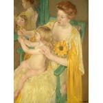 Puzzle  Grafika-01936 Mary Cassatt : Mère et Enfant, 1905