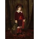 Puzzle  Grafika-01940 Mary Cassatt : Eddy Cassatt (Edward Buchanan Cassatt), 1875