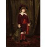 Puzzle  Grafika-01942 Mary Cassatt : Eddy Cassatt (Edward Buchanan Cassatt), 1875