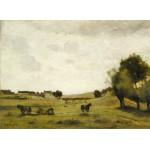 Puzzle  Grafika-01955 Jean-Baptiste-Camille Corot : Vue près d'Epernon, 1850-1860