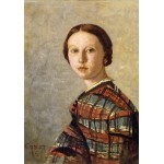 Puzzle  Grafika-01977 Jean-Baptiste-Camille Corot : Portrait de Jeune Fille, 1859