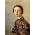 Puzzle  Grafika-01978 Jean-Baptiste-Camille Corot : Portrait de Jeune Fille, 1859