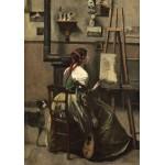 Puzzle  Grafika-01983 Jean-Baptiste-Camille Corot : Atelier de l'Artiste, 1868