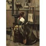 Puzzle  Grafika-01984 Jean-Baptiste-Camille Corot : Atelier de l'Artiste, 1868