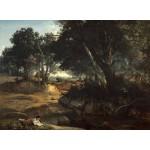 Puzzle  Grafika-01987 Jean-Baptiste-Camille Corot : Forêt de Fontainebleau, 1834