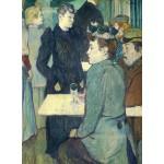 Puzzle  Grafika-01988 Henri de Toulouse-Lautrec : Au Moulin de la Galette, 1892