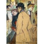 Puzzle  Grafika-01992 Henri de Toulouse-Lautrec : Alfred la Guigne, 1894