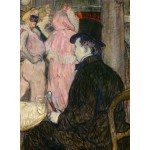Puzzle  Grafika-02000 Henri de Toulouse-Lautrec : Maxime Dethomas, 1896