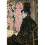 Puzzle  Grafika-02001 Henri de Toulouse-Lautrec : Maxime Dethomas, 1896