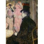 Puzzle  Grafika-02002 Henri de Toulouse-Lautrec : Maxime Dethomas, 1896