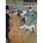 Puzzle  Grafika-02005 Henri de Toulouse-Lautrec : Quadrille au Moulin Rouge, 1892
