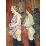 Puzzle  Grafika-02006 Henri de Toulouse-Lautrec : Rue des Moulins, 1894