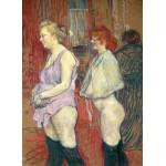 Puzzle  Grafika-02008 Henri de Toulouse-Lautrec : Rue des Moulins, 1894