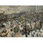 Puzzle  Grafika-02009 Camille Pissarro : Boulevard des Italiens Soleil du Matin, 1897