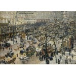 Puzzle  Grafika-02010 Camille Pissarro : Boulevard des Italiens Soleil du Matin, 1897