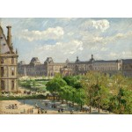 Puzzle  Grafika-02014 Camille Pissarro : Place du Carrousel, Paris, 1900