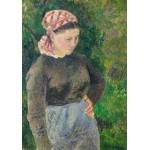 Puzzle  Grafika-02025 Camille Pissarro : Paysanne, 1880