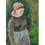 Puzzle  Grafika-02026 Camille Pissarro : Paysanne, 1880