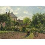 Puzzle  Grafika-02035 Camille Pissarro : Le Jardin de l'Artiste à Eragny, 1898