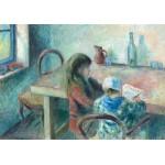 Puzzle  Grafika-02043 Camille Pissarro : Les Enfants, 1880