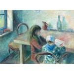 Puzzle  Grafika-02044 Camille Pissarro : Les Enfants, 1880