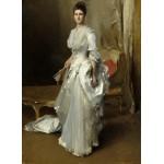 Puzzle  Grafika-02047 John Singer Sargent : Margaret Stuyvesant Rutherfurd White (Mrs. Henry White), 1883