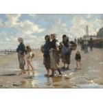 Puzzle  Grafika-02059 John Singer Sargent : En Route Pour la Pêche, 1878