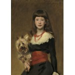 Puzzle  Grafika-02063 John Singer Sargent : Miss Beatrice Townsend, 1882