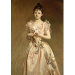 Puzzle  Grafika-02067 John Singer Sargent : Miss Grace Woodhouse, 1890
