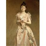 Puzzle  Grafika-02068 John Singer Sargent : Miss Grace Woodhouse, 1890