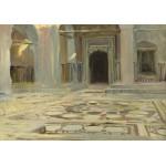 Puzzle  Grafika-02070 John Singer Sargent : Dallage au Caire, 1891