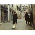 Puzzle  Grafika-02078 John Singer Sargent : Rue à Venise, 1882