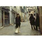 Puzzle  Grafika-02079 John Singer Sargent : Rue à Venise, 1882