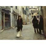 Puzzle  Grafika-02080 John Singer Sargent : Rue à Venise, 1882