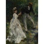 Puzzle  Grafika-02087 Pierre-Auguste Renoir : La Promenade, 1870
