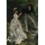 Puzzle  Grafika-02088 Pierre-Auguste Renoir : La Promenade, 1870