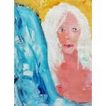 Puzzle  Grafika-02104 La Jeune Femme aux Cheveux Blancs