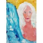 Puzzle  Grafika-02105 La Jeune Femme aux Cheveux Blancs