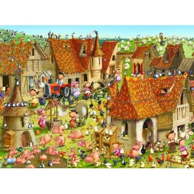 Puzzle Grafika-02159 François Ruyer - Ferme