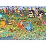 Puzzle  Grafika-02161 François Ruyer - Dinosaures
