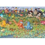 Puzzle  Grafika-02162 François Ruyer - Dinosaures