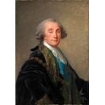 Puzzle  Grafika-02175 Élisabeth-Louise Vigee le Brun : Alexandre Charles Emmanuel de Crussol-Florensac, 1787