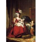 Puzzle  Grafika-02180 Louise-Élisabeth Vigee le Brun : Marie Antoinette et ses enfants, 1787
