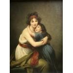 Puzzle  Grafika-02183 Elisabeth Vigée-Lebrun : Madame Vigée-Lebrun et sa fille, 1789