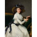Puzzle  Grafika-02184 Louise-Élisabeth Vigee le Brun : Comtesse de la Châtre (Marie Charlotte Louise Perrette Aglaé Bontem