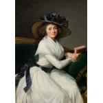 Puzzle  Grafika-02185 Louise-Élisabeth Vigee le Brun : Comtesse de la Châtre (Marie Charlotte Louise Perrette Aglaé Bontem