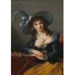 Puzzle  Grafika-02187 Louise-Élisabeth Vigee le Brun : Comtesse de Segur, 1785