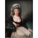 Puzzle  Grafika-02189 Louise-Élisabeth Vigee le Brun : Madame d'Aguesseau de Fresnes, 1789